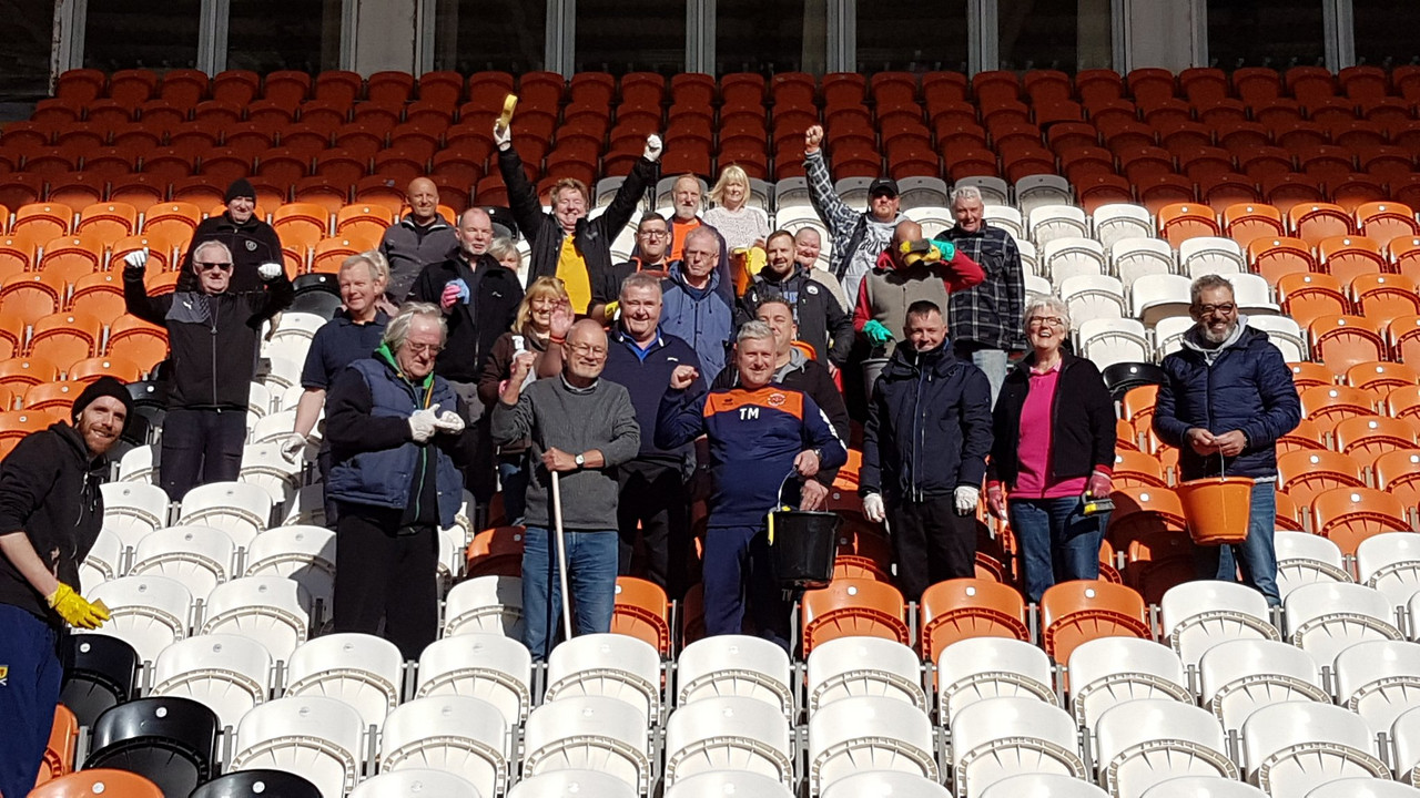 The clean up begins as Blackpool prepare for life after Oystons