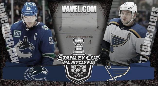 Previa St. Louis Blues vs Vancouver Canucks: el campeón defensor contra el talento joven