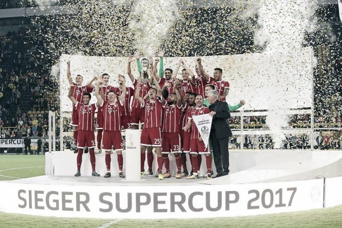 Supercoppa di Germania, l'orgoglio del Bayern a Dortmund