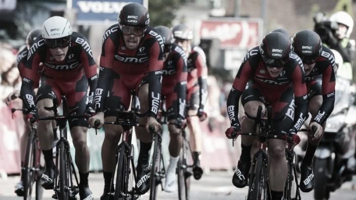 Eneco Tour, la BMC vince la cronosquadre e Dennis torna leader