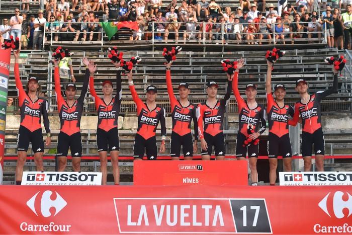 Volta a Espanha: BMC ganha, Dennis lidera