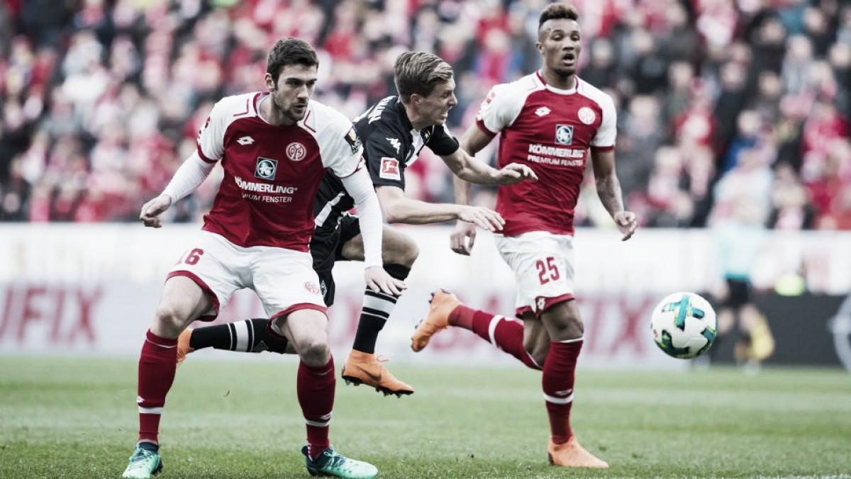 Em jogo fraco, Mainz e Borussia Mönchengladbach empatam sem gols pela Bundesliga