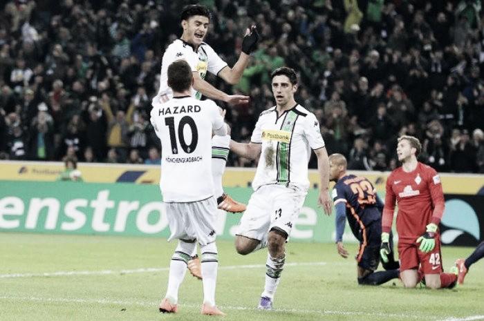 Borussia Mönchengladbach 5-1 Werder Bremen: Fantastic Foals ease aside woeful Werder