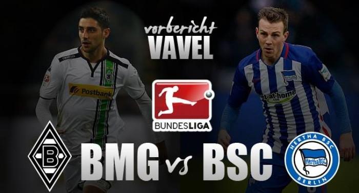 Borussia Mönchengladbach - Hertha BSC Berlin: Kampf um Europa