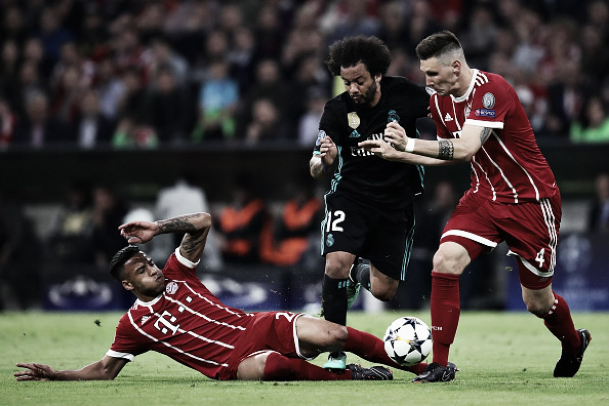 Rafinha falha, e Real Madrid vira contra Bayern de Munique na Alemanha