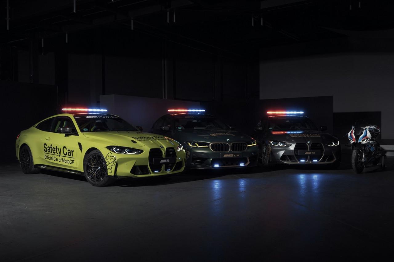 BMW M presenta sus vehículos de seguridad 2021