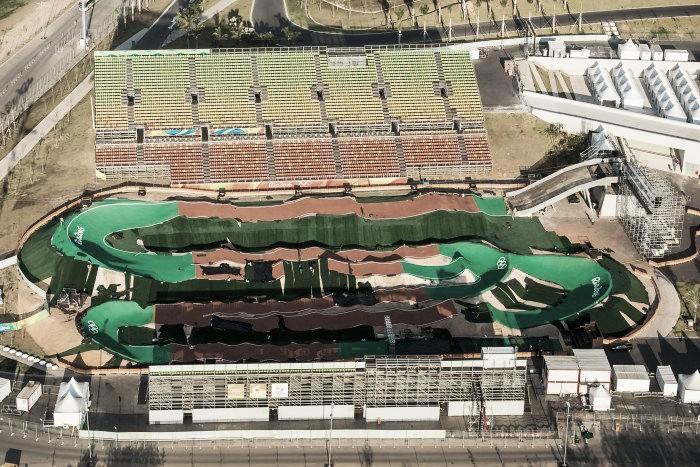 Mais novo dos esportes olímpicos, BMX tem sua estreia em Deodoro