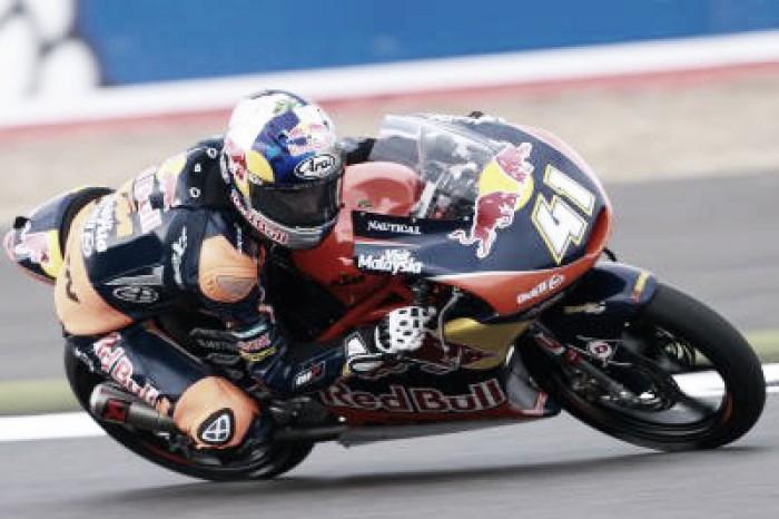 Binder wins the British Moto3 at Silverstone