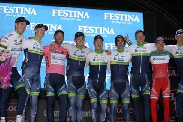 Svein Tuft premier leader du Giro di Italia