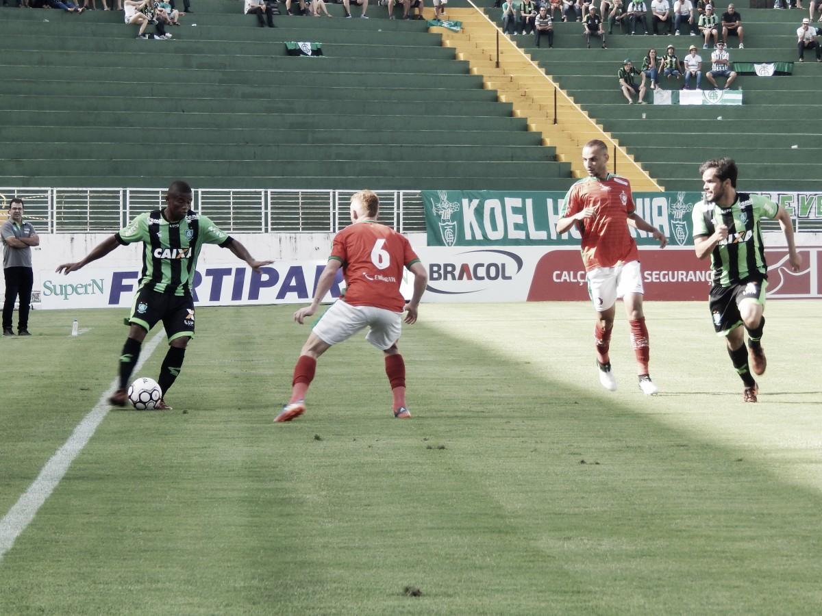 Em jogo único, América-MG e Boa Esporte se enfrentam buscando vaga em semifinal do Mineiro