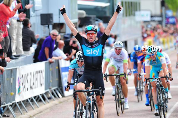 Boasson Hagen se apunta al sprint la tercera etapa del Dauphiné