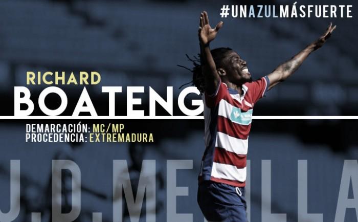 Boateng, fichado por la UD Melilla