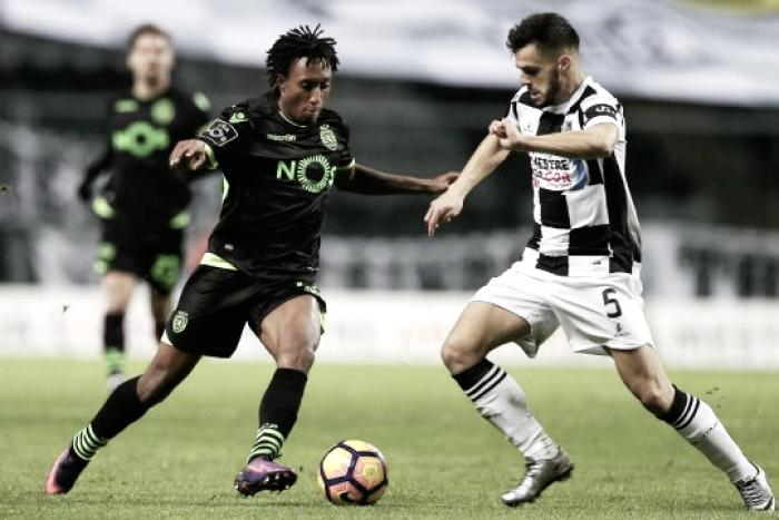 Un solitario gol de Bas Dost le da los tres puntos al Sporting