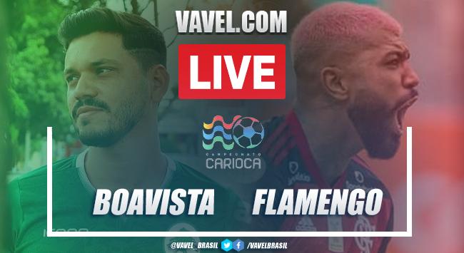 Gols e melhores momentos de Boavista 1x1 Flamengo pelo Campeonato Carioca 2021