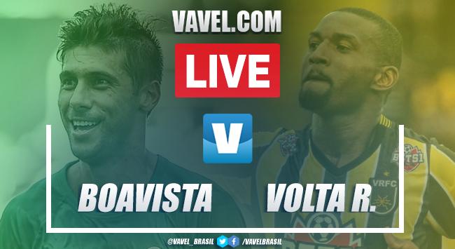 Boavista x Volta Redonda AO VIVO hoje pelo Carioca (1-1)