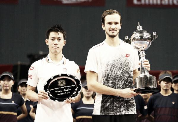 Medvedev derrota a Nishikori en Tokio y logra su primer gran título