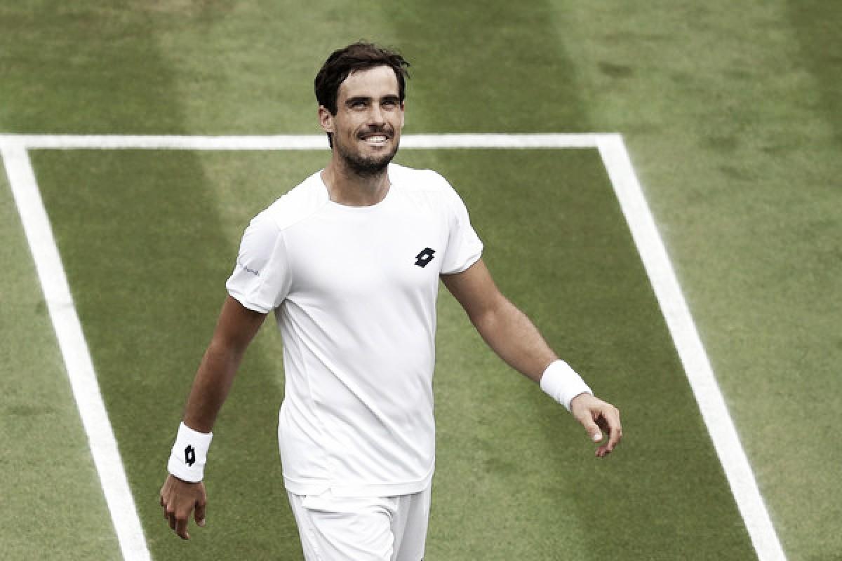 """Guido Pella: """"He estado buscando esto durante años, pero no esperaba que sea aquí, contra Cilic, en Wimbledon"""""""