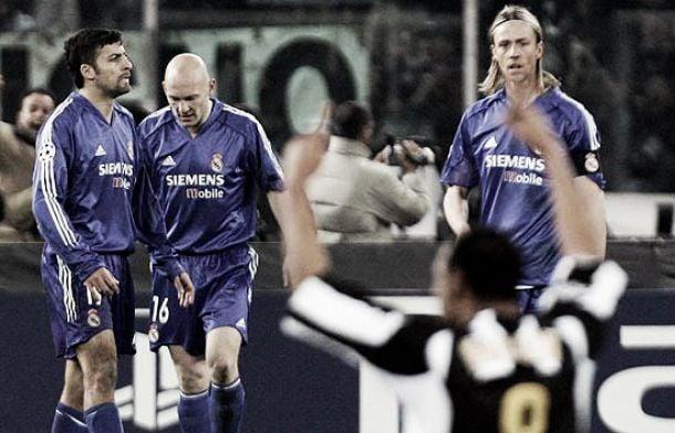 Serial Real Madrid - Juventus 2004/2005: Trezeguet y Zalayeta sentencian a un Madrid en crisis
