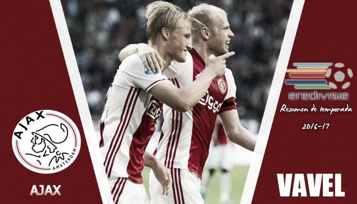 Resumen temporada 2016/2017 Ajax de Ámsterdam: un año de subcampeonatos