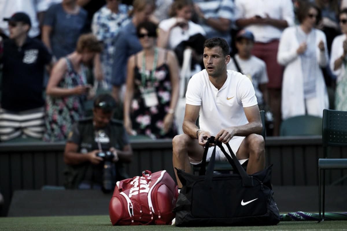 """Grigor Dimitrov: """"Para mí fue muy difícil perder en la primera ronda de Wimbledon ante Wawrinka"""""""