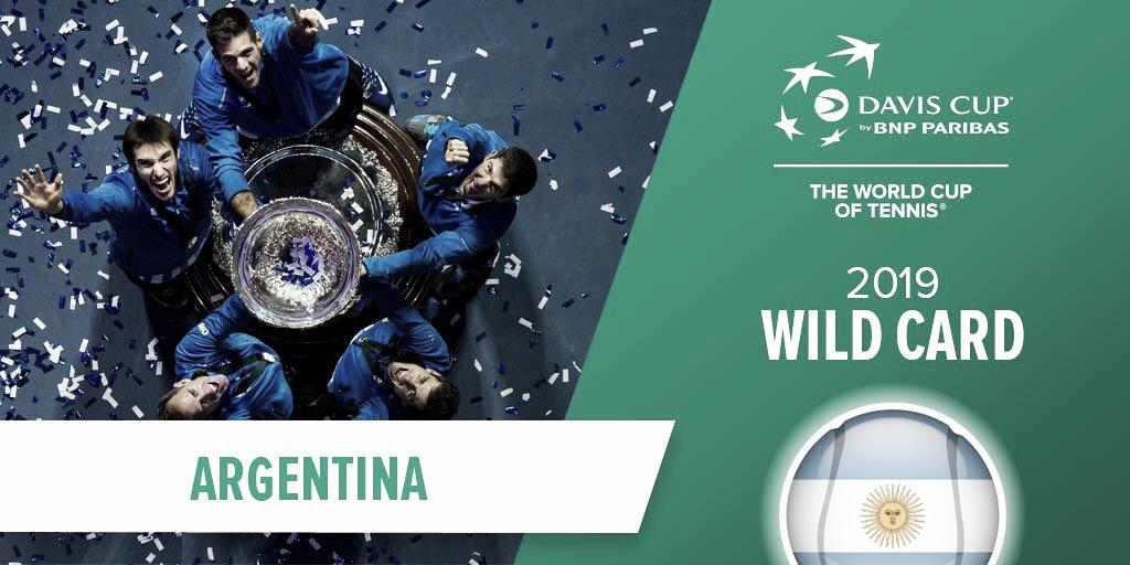 Argentina disputará directamente las finales de la nueva Copa Davis