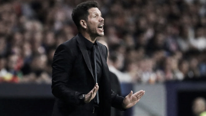 """Simeone: """"Estas son las consecuencias de quedarse en el Atleti"""""""