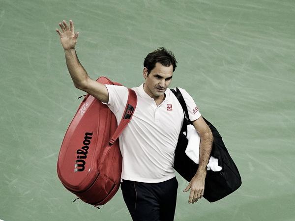 "Roger Federer: ""Lleva molestándome mi mano derecha durante tres meses"""