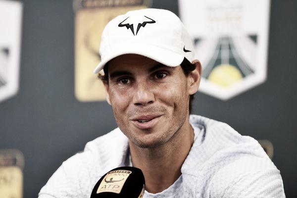 """Rafael Nadal: """"Me motiva jugar aquí, es una ciudad muy importante para mí"""""""