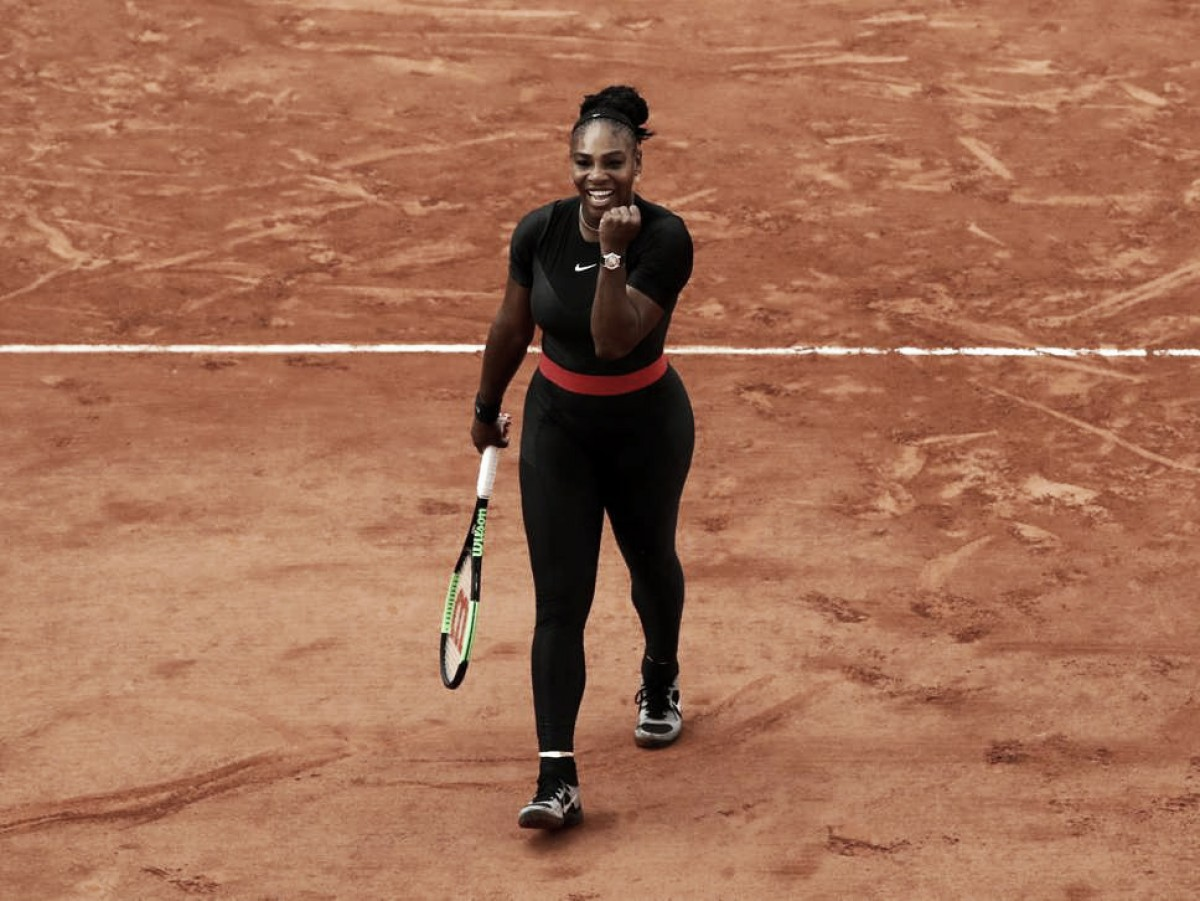 Serena, contundente