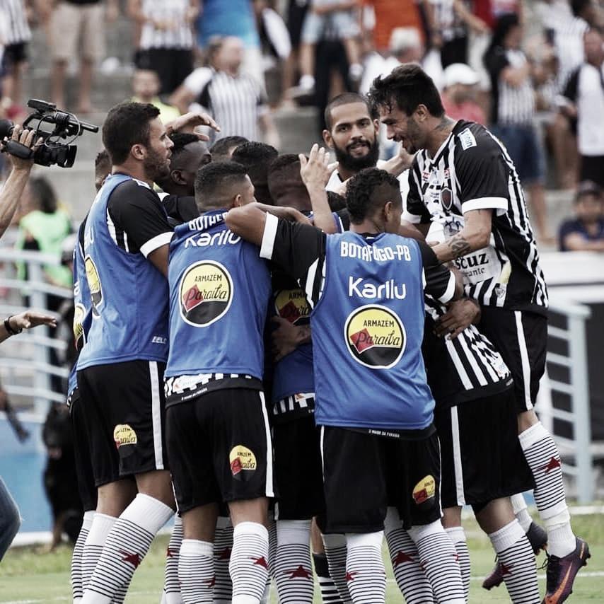 Botafogo-PB goleia Perilima e estreia bem pelo Campeonato Paraibano