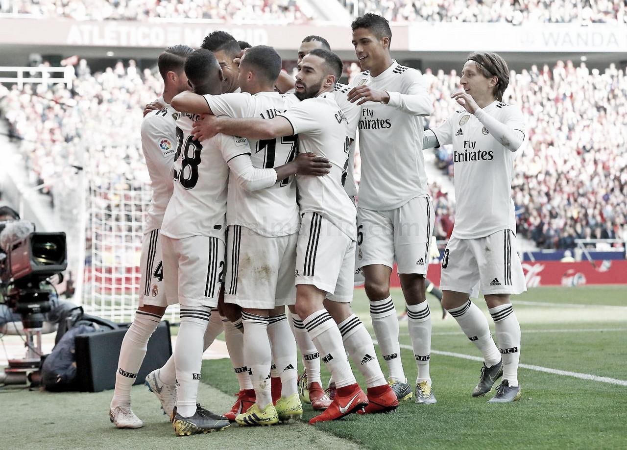 El Real Madrid cumple en el Wanda