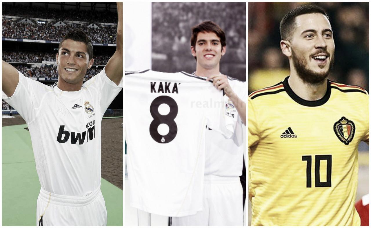 Hazard, el último galáctico que llenará el Bernabéu