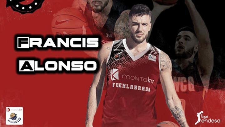 Francis Alonso jugará cedido en el Fuenlabrada