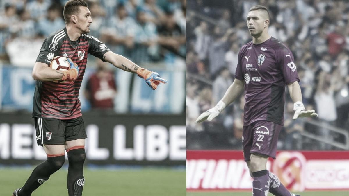 Franco Armani y Juan Pablo Carrizo, dos arqueros Millonarios
