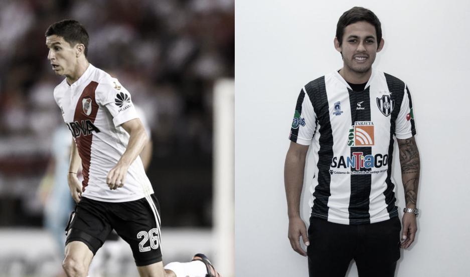 Ignacio Fernández y Cesar Meli, dos que quieren volver a levantar la Copa