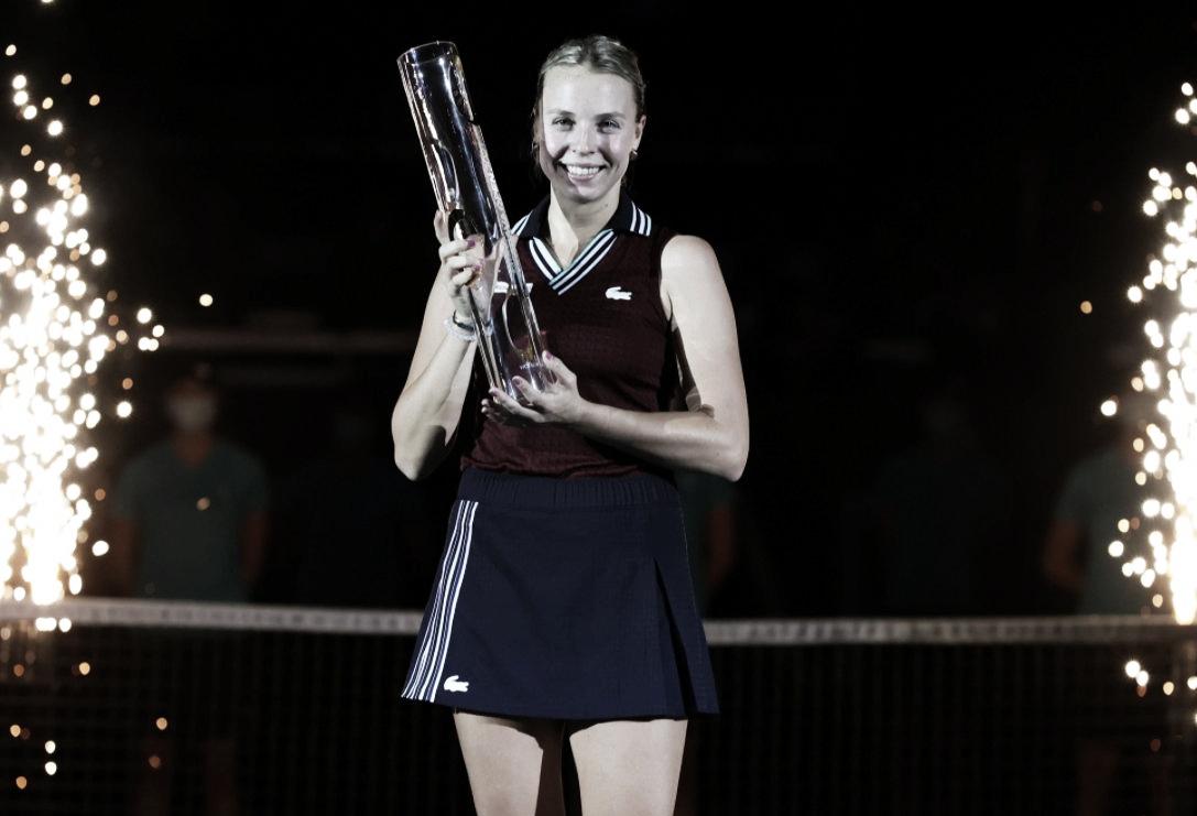 Ostrava Open: Anett Kontaveit se lleva el premio mayor