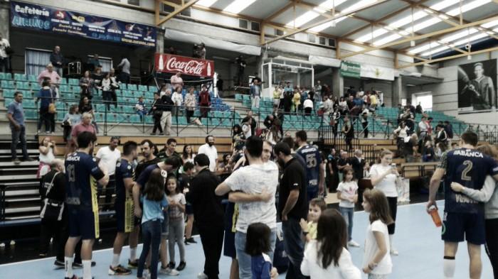 El Frigoríficos Morrazo logra su primer triunfo a costa del CB Ciudad de Logroño