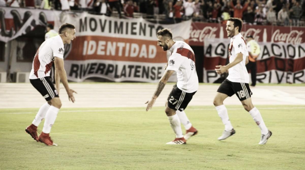 La senda victoriosa de River Plate no para