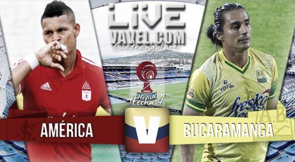 Resultado final América de Cali - Atlético Bucaramanga (0-1)