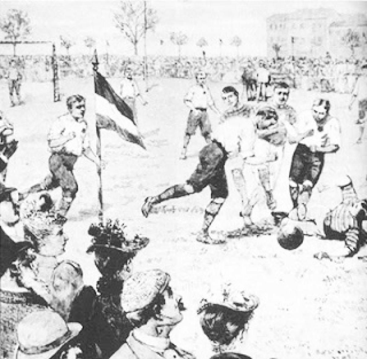 Reglamento del fútbol y el primer torneo de la historia
