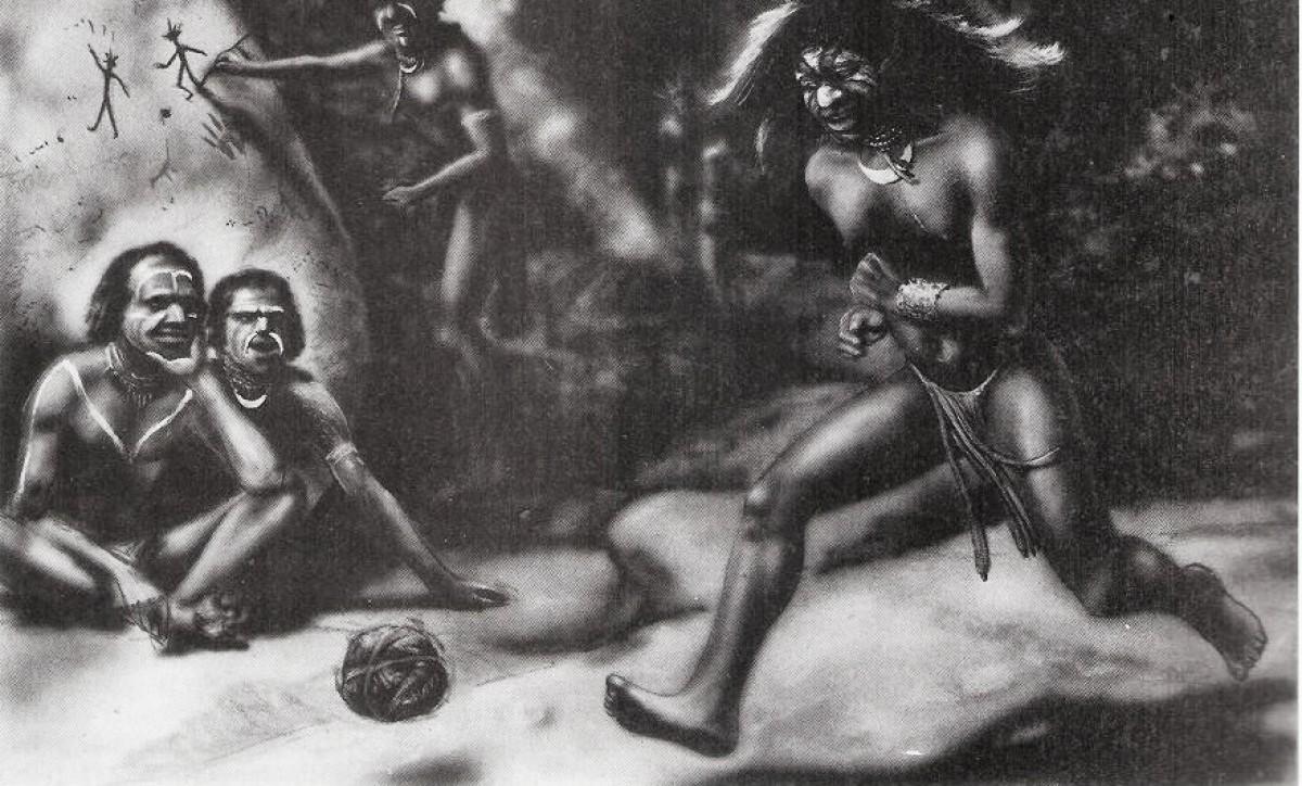 El Fútbol en la época de las cavernas
