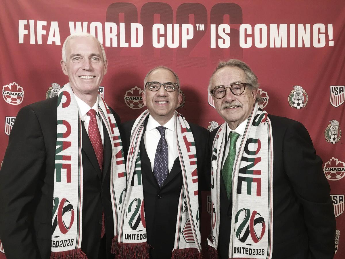 Oficial: Canadá, Estados Unidos y México serán sedes del Mundial 2026