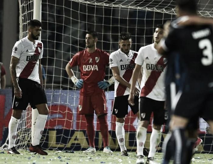 River sobró el encuentro ante Talleres y sufrió una goleada