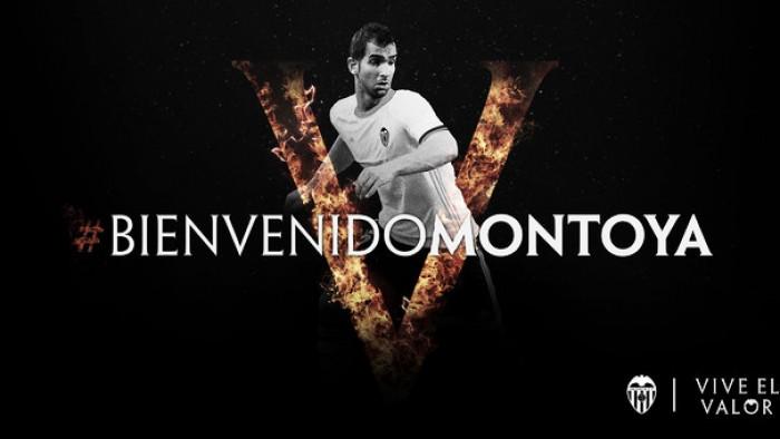 Formado no Barcelona e com passagem na Inter, lateral Martin Montoya é anunciado no Valencia