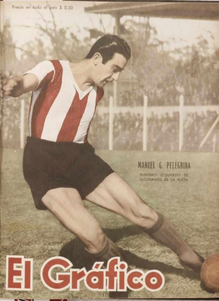 """Manuel Pelegrina, el """"Pincharrata"""" goleador"""