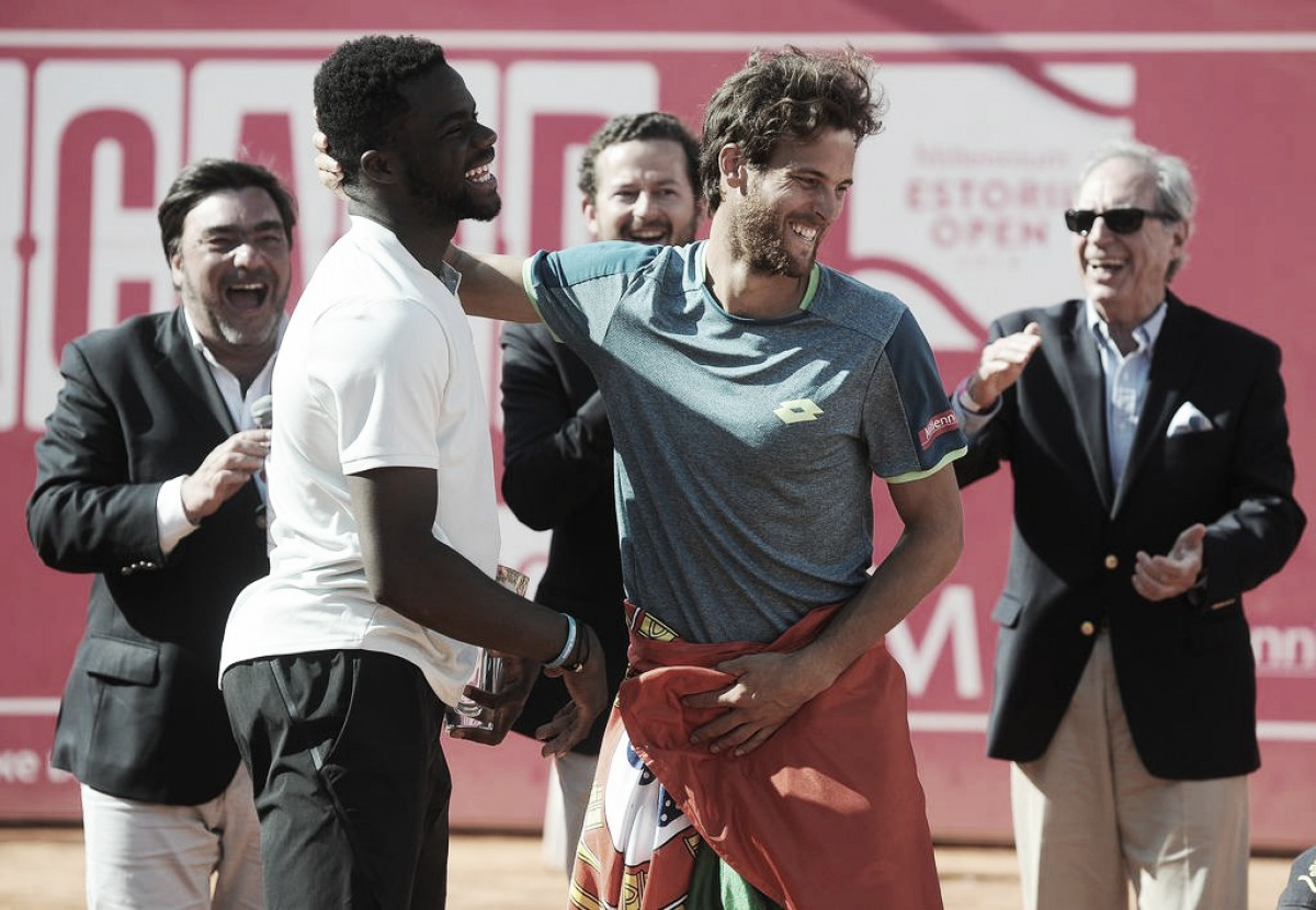 ATP Estoril: João Sousa dispatches Frances Tiafoe for the first title at home