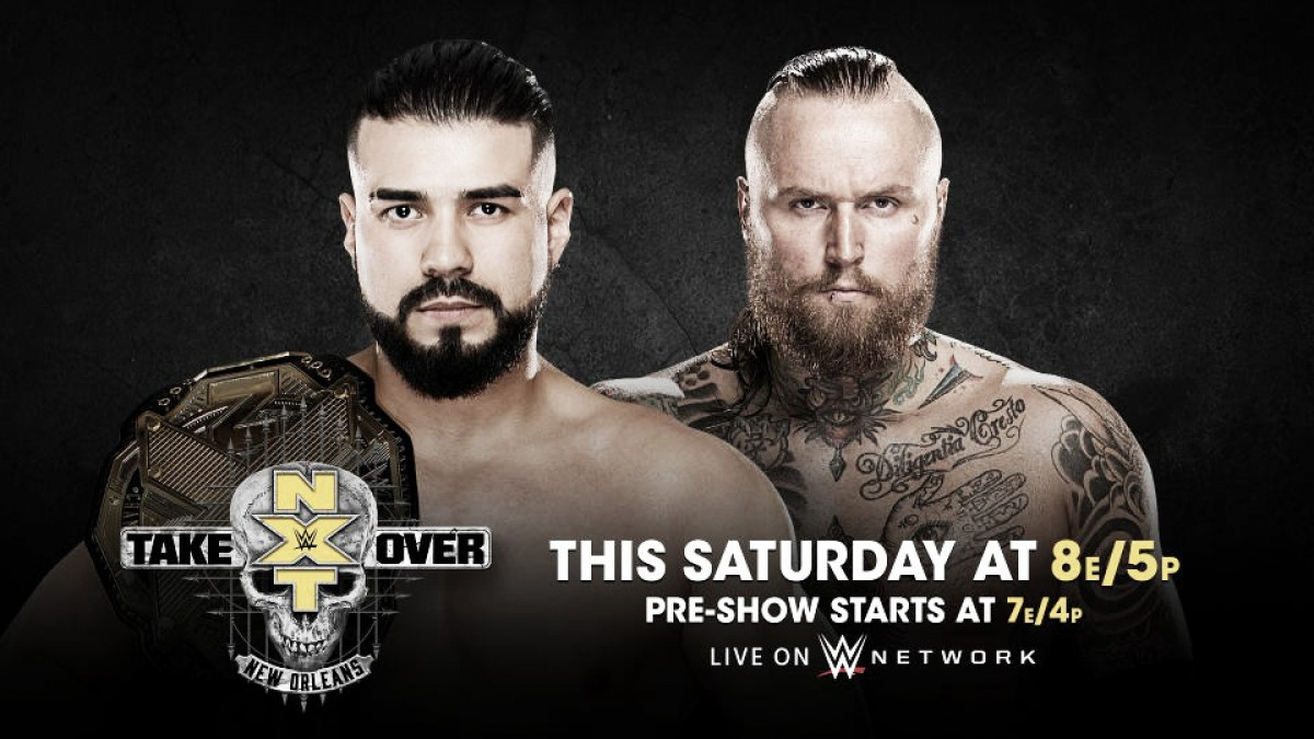 Cartelera NXT TakeOver: Nueva Orleans