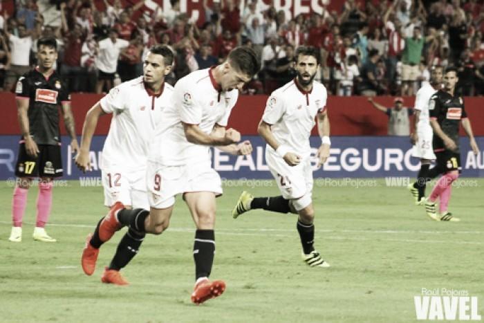 Resumen Sevilla 1-0 Leipzig: Ben Yedder decide un encuentro trabado y de poco fútbol