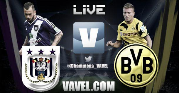 Anderlecht vs Borussia Dortmund en vivo y en directo online