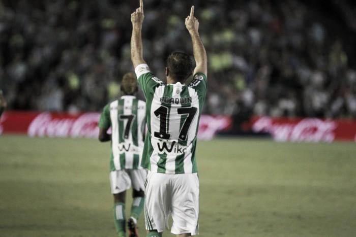 Joaquín marca e Bétis bate Málaga pelo placar mínimo